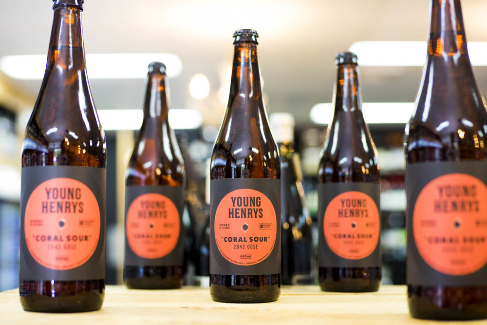Young Henrys Coral Sour 640mL