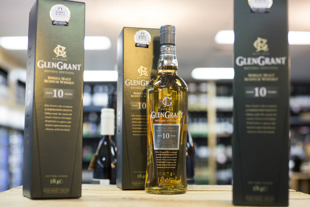 Glen Grant 10 Year Old Scotch 700mL