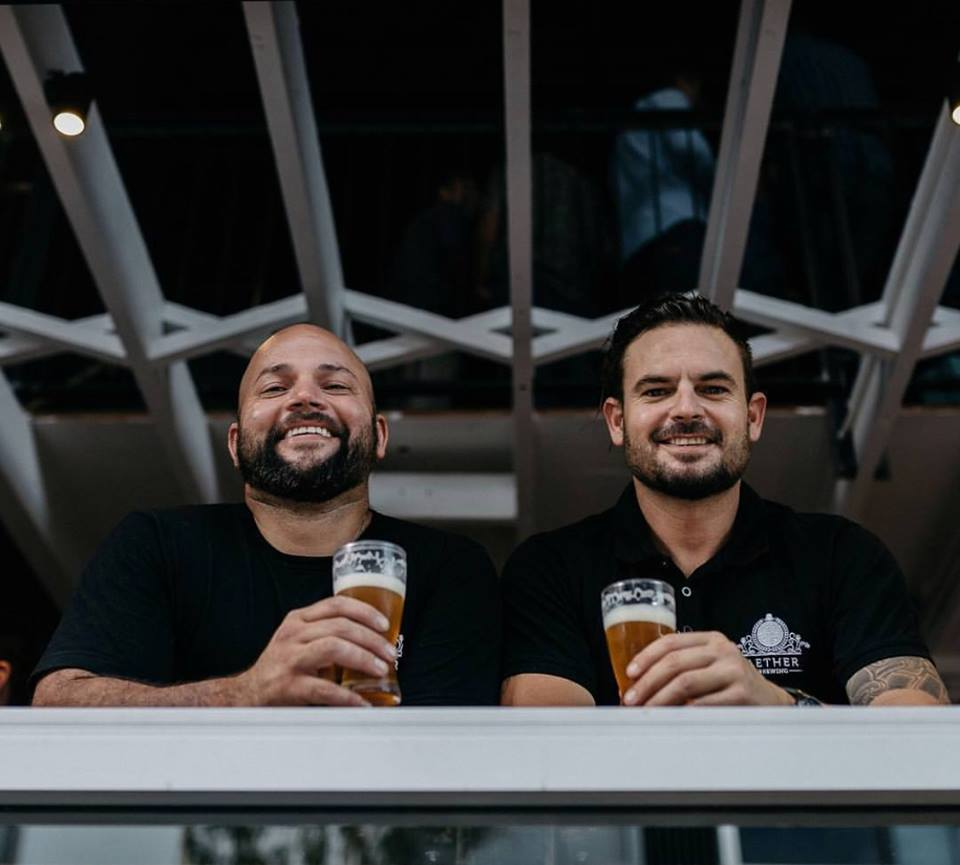 Aether Brewing Founders Dave and Jim. Image sourced via Facebook.