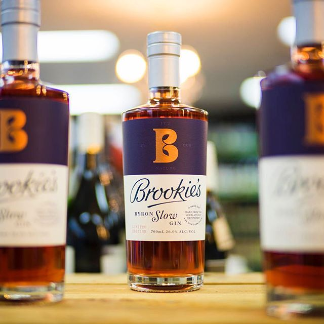 Brookies Slow Gin | This gin continues to fly of our shelves, and there is not secret why. Expect strong and impressive flavours of rose, watermelon and bright plum. ————————————————— Collect your bottle today for $66.99