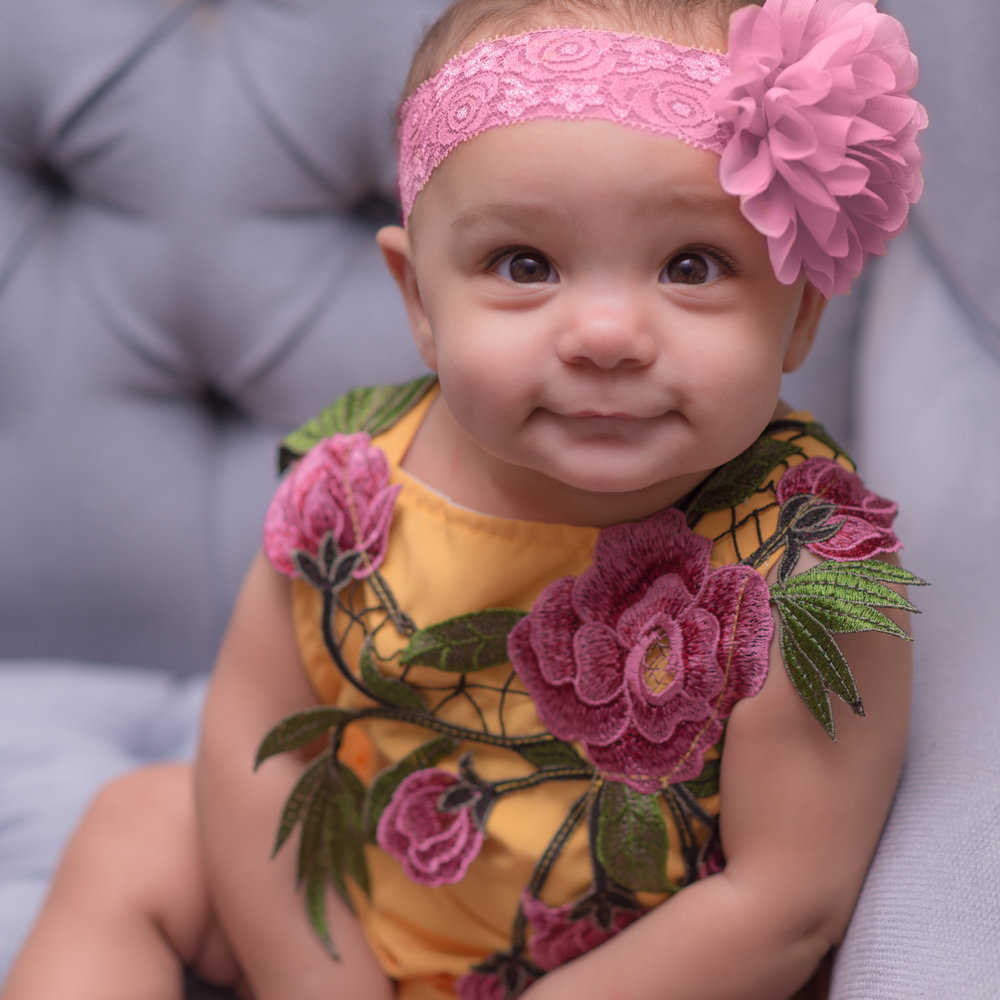 This was the outfit that did it for me! Simply sweet, bright, and lovely. Check out this best seller here: Yellow Flower Sleeveless Romper.