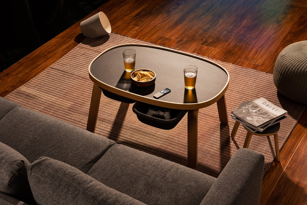 Beyond a Coffee Table - Office for Product Design co-founders Nicol Boded & Tomas Rosén talk about their design process of any-way table for PUPUPULA.