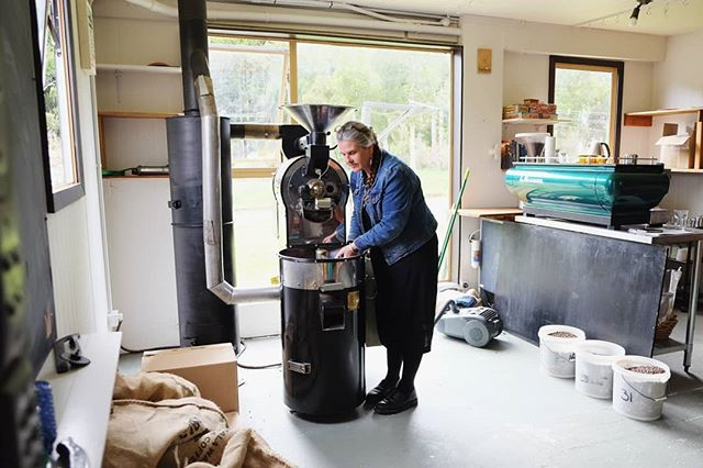 Back into it! Roastery coming together now. Order online at fatcatcoffee.co.nz/shop