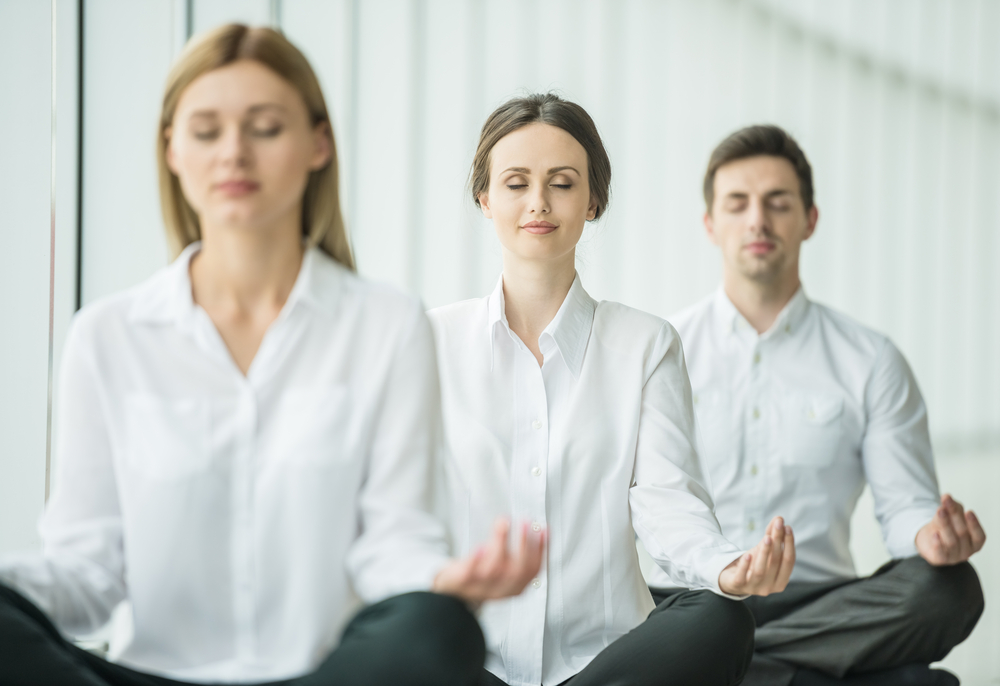 CORPORATE YOGA  Corporate group yoga allows your team to unwind, relax and recharge as well as do activities together that are aside from work.   View classes