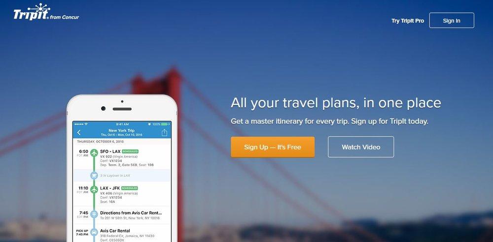 TripIt wird Teilvon Concur - Die wachsende Bedeutung mobiler Endgeräte zeigt sich auch in der Akquisition von TripIt, einer App für mobile Reisepläne. Nutzer der App können Buchungsbestätigungen per Mail an die App weiterleiten, die daraus vollautomatisch Reisepläne erstellt.