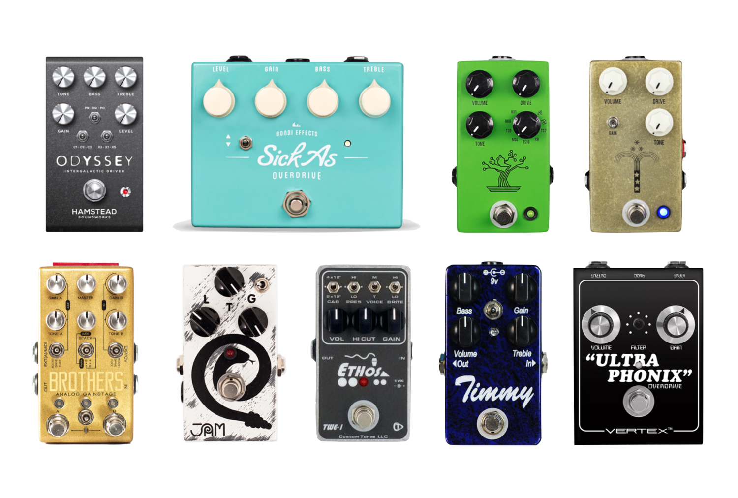 The Best Overdrive Pedals - A Buyer's Guide — A1 Amps