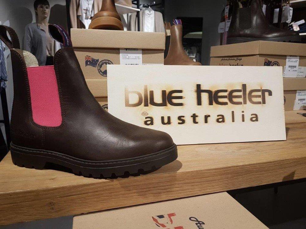 BLUE HEELER - Neben unseren Kleidungs- und Wäsche-Marken finden Sie Schuhe, u.a. von Blue Heeler, in unserem Modehaus!