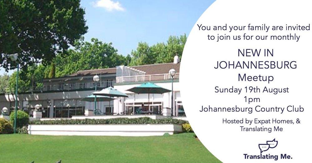 Johannesburg Expat