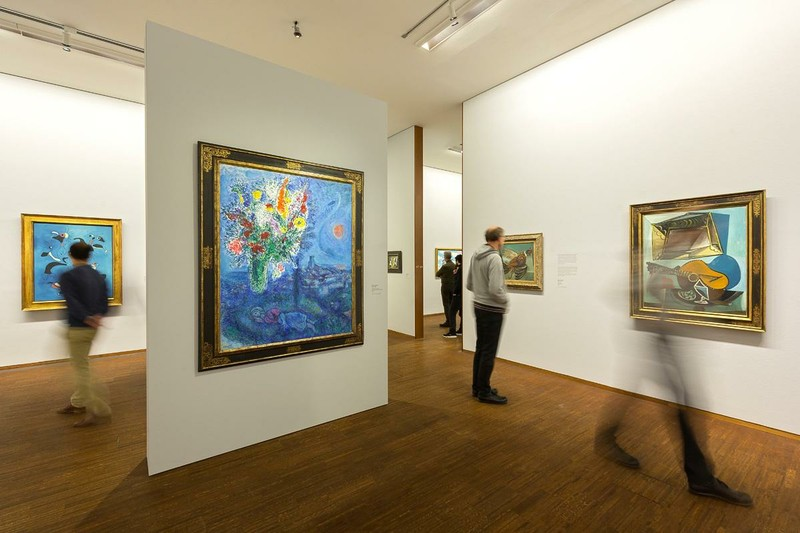 Guided Tour: Albertina Museum - During the one-hour guided tour through one of Europe's most important collections of Modernist art, the students can enjoy works by world-famous painters such as Klimt, Schiele, Monet and Picasso.