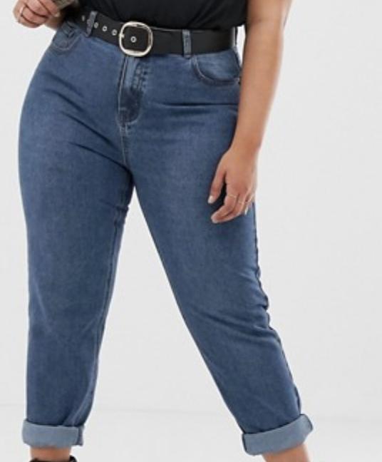 e70fb3c00f6 Boohoo Plus Size High Waist Mom Jeans