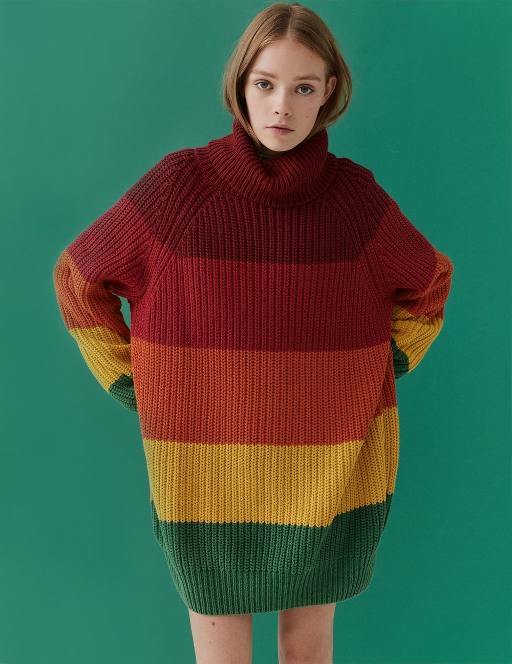 Lazy Oaf Autumn Rainbow Knit