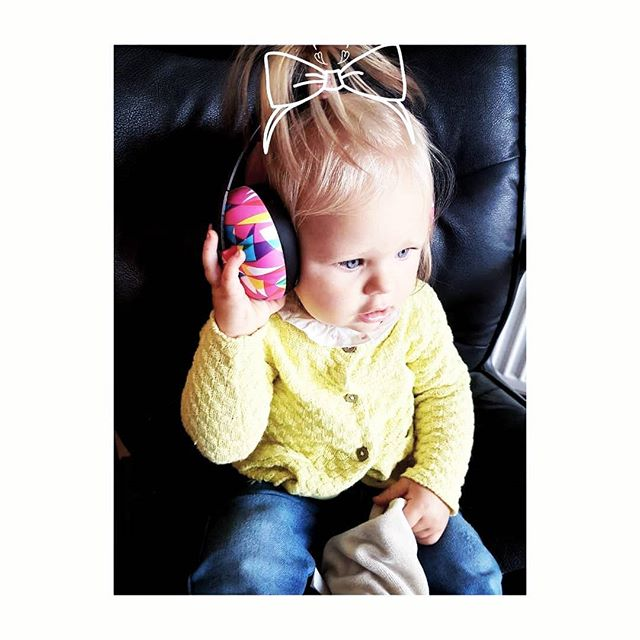 Flo, the little DJ! 🎧 @wearekidly 👊 North bound for a weekend of @carfest2018 festival fun ✌🌞🌼⛺🌈 ________________________________________________  Ear defenders are a children's festival must have!! We (Flo & I) adore these geometric colourful printed ear defenders from @wearekidly such amazing quality, look super comfy on & she loves wearing them (bonus).. . they should last her til she is four #winning  Let's get to the festival already, as Flo is ready to party 🤩  #festivalmusthave #flothedj #floellaskye #festivalseason #carfest2018 #stylistfind #childrenswear #festivalready #eardefenders #wearekidly #geometric #familyfestivities