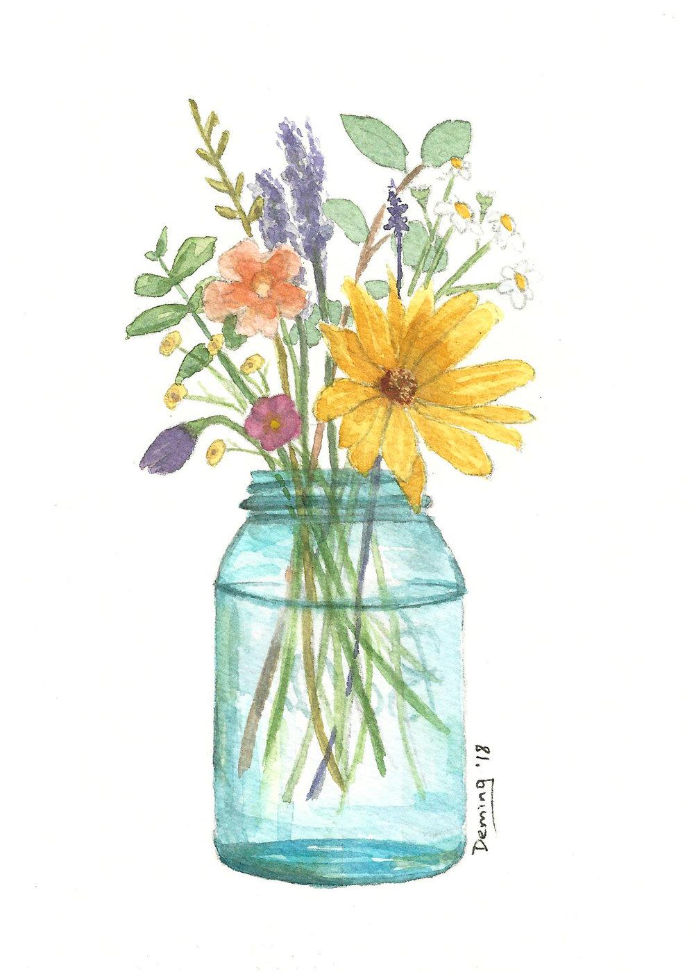 Flower Studies -