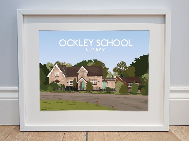 Private commisson of Ockley Village school