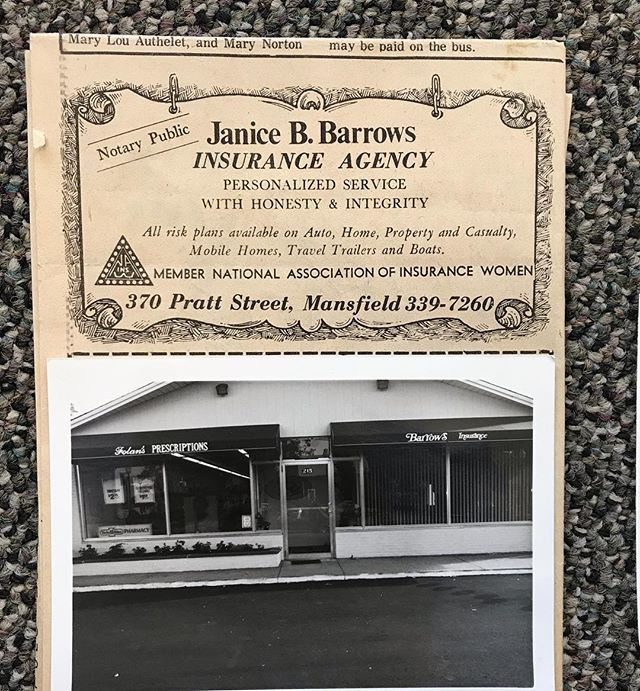A little flashback Friday!! One of the very first ads Founder, Janice Barrows, had in the newspaper from 1977!! Along with some oldies from one of the Family Fun Nights in the 80s. Thank you to all who have supported us from the beginning! #autoinsurance #homeinsurance #lifeinsurance #businessinsurance