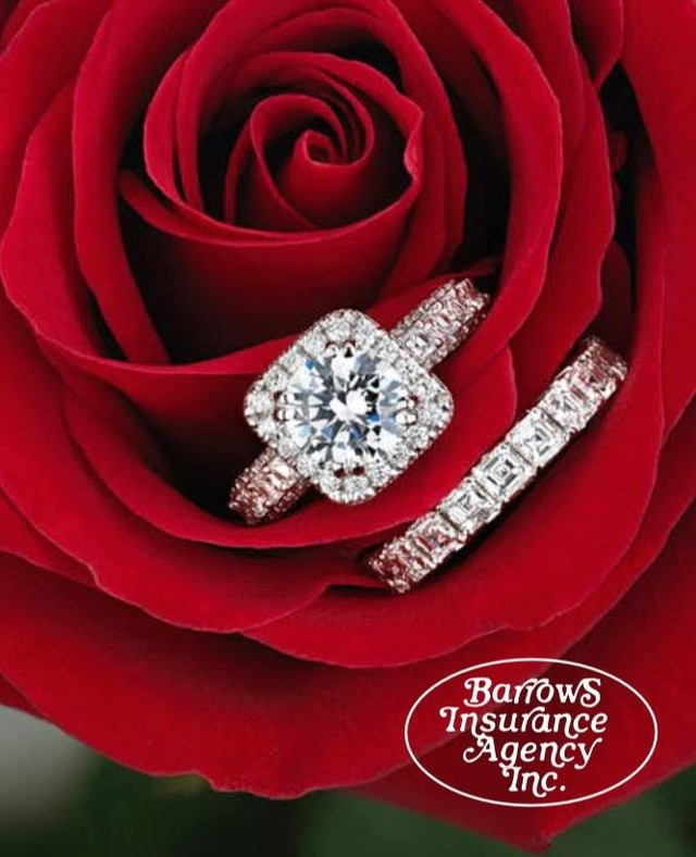 Spread the Love- Share the Love.  Enjoy your Valentine's Day, worry free.  Do you have any jewelry or are you recently engaged?  Are your valuables fully covered?  Barrows Insurance can answer any questions you may have.  We can add jewelry coverage to a homeowners, renters or condo policy.  Talk to one of our agents today.  Please give us a call in our Mansfield office (508) 339-7260, or in our Foxboro office (508) 543-1101 to talk about your jewelry questions.  Your special day matters to us.