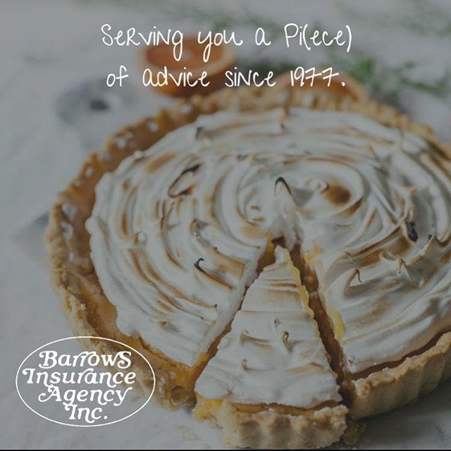 Happy Pi Day! #greatcoveragestartswithgreatadvice