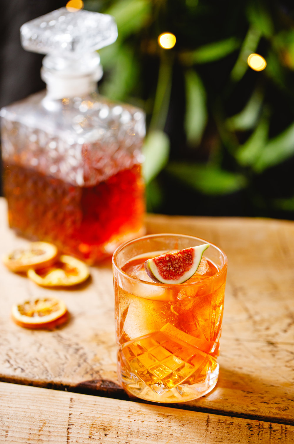 Figgy Old Fashioned - Difficulty: Medium. Well worth the extra effort!