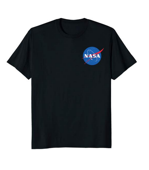 Ultra Tees - NASA Shirt- Chest Meatball Logo $17.99