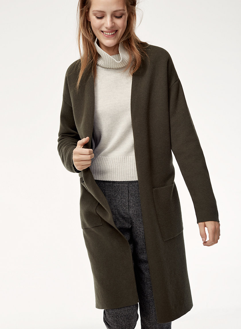 Aritzia - Babaton Lance Cardigan $148 (not available in black anymore)