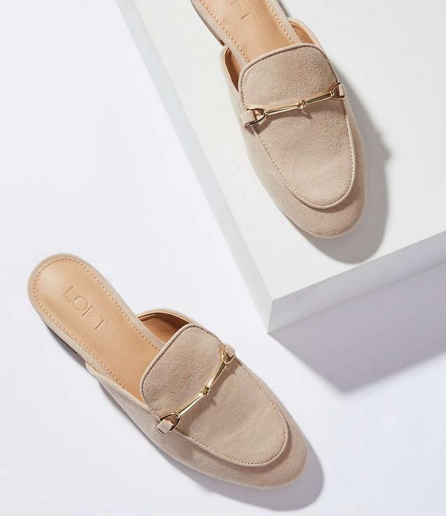 Loft - Loafer Slides (similar) $79.50