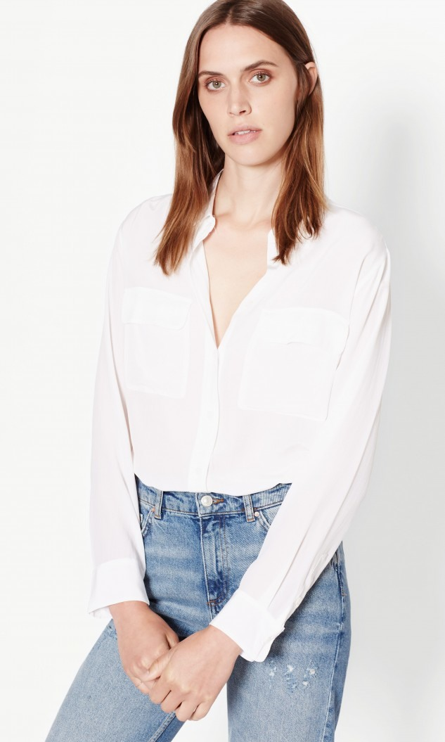 Equipment  - Signature Silk Shirt $218.00