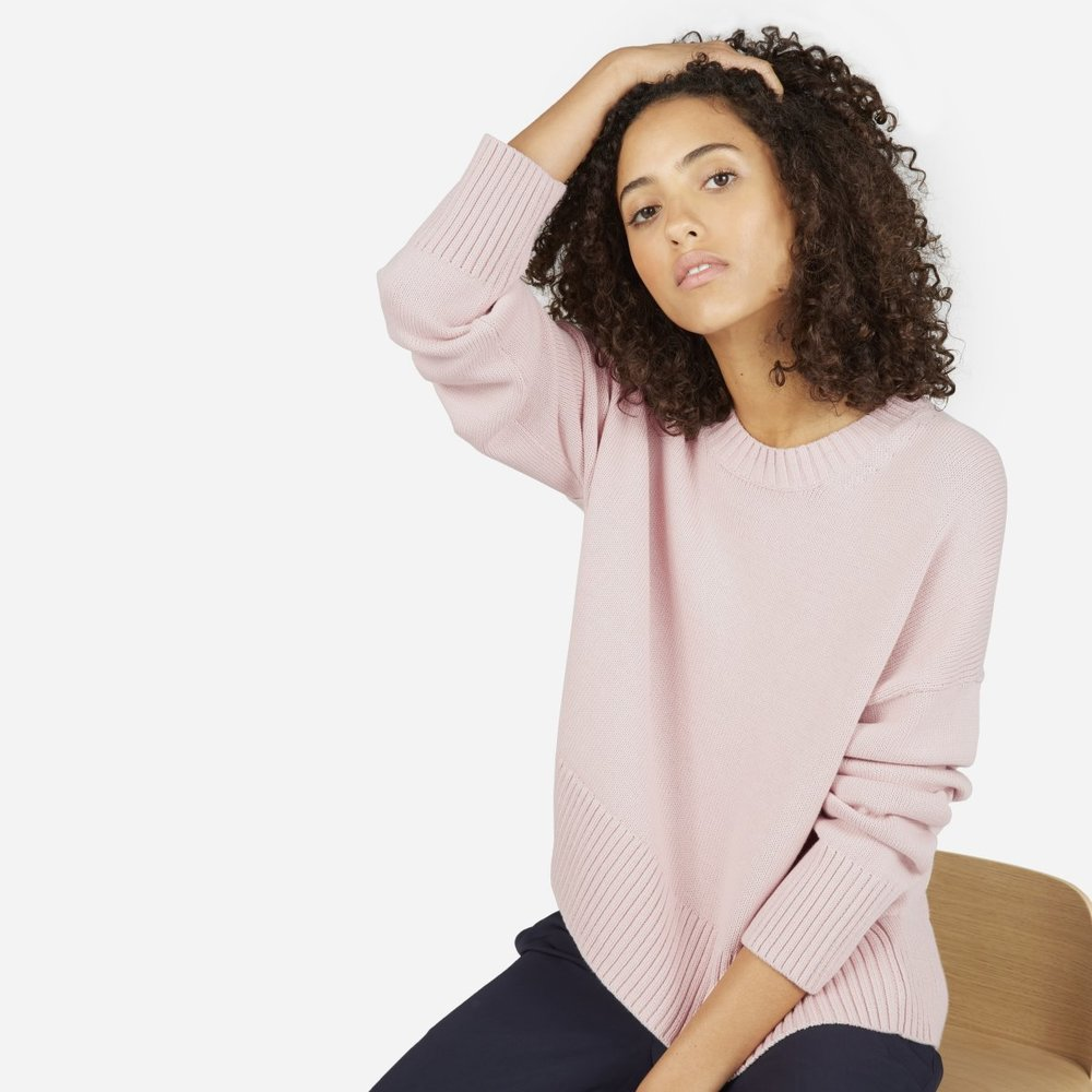 Everlane - The Soft Cotton Square Crew $68