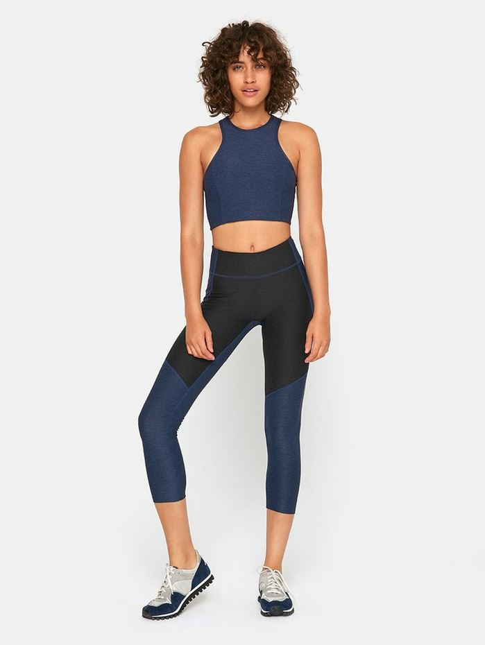 Outdoor Voices - 3/4 Two-Tone Warmup Legging