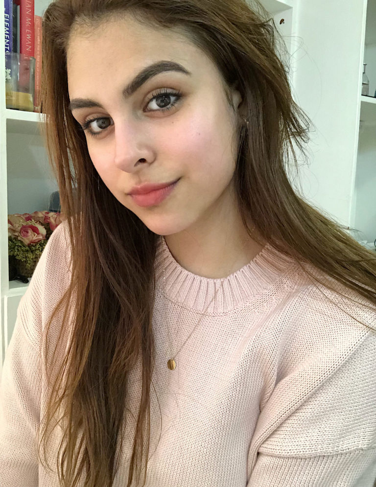 Foto de mi piel sin maquillaje