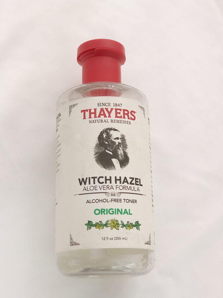 Este es mi toner favorito por siempre, adem   á   s es super economico!  Thayers Witch Hazel Aloe Vera Formula Toner.