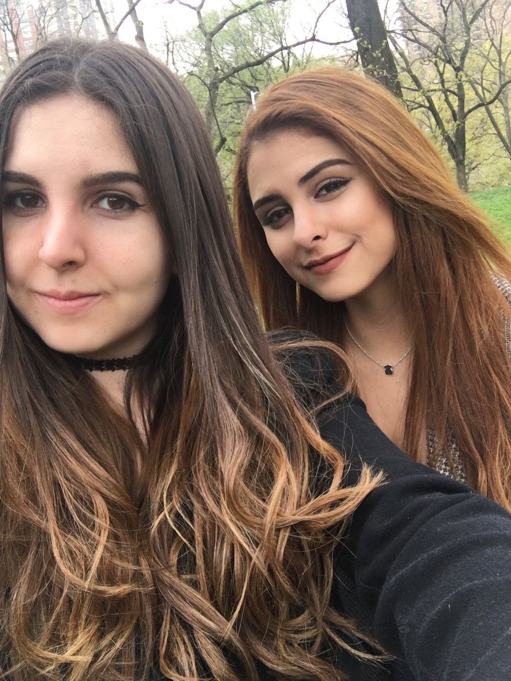 Anne and I in Central Park