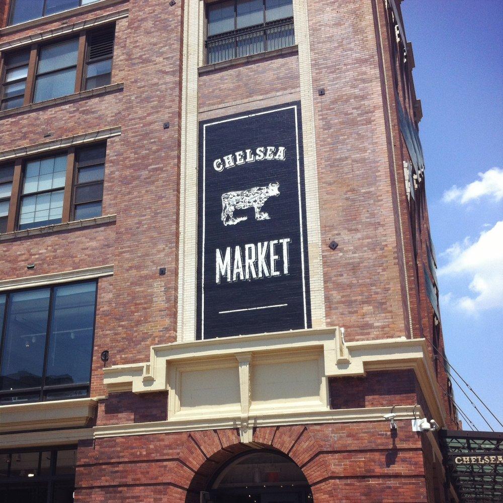 Visiten Chelsea Market -