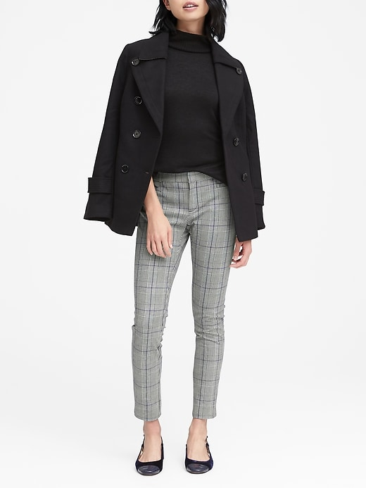 Banana Republic - Sloan Skinny-Fit Plaid Ankle Pant