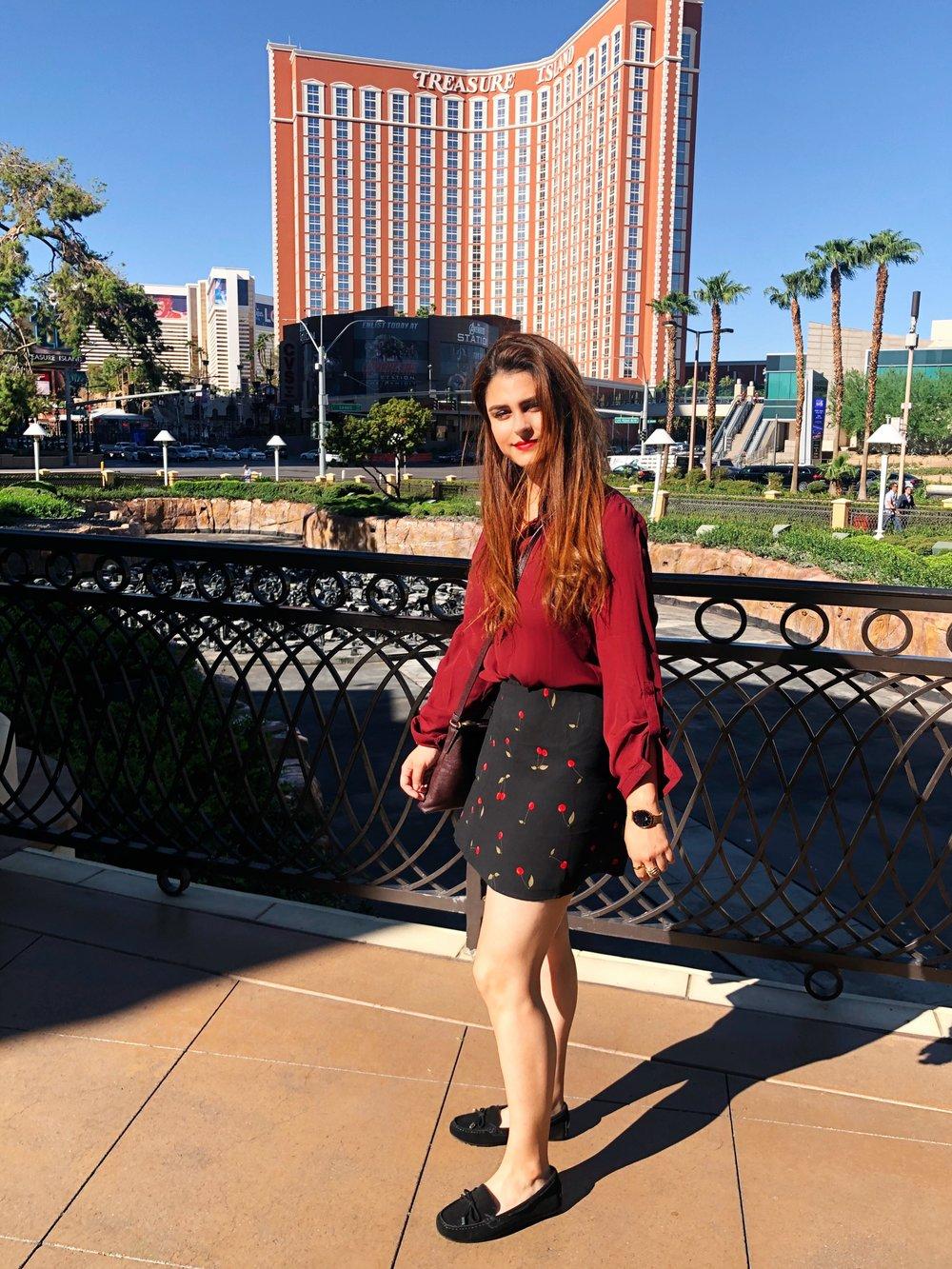 Blouse  -  Skirt  - Shoes  (similar)