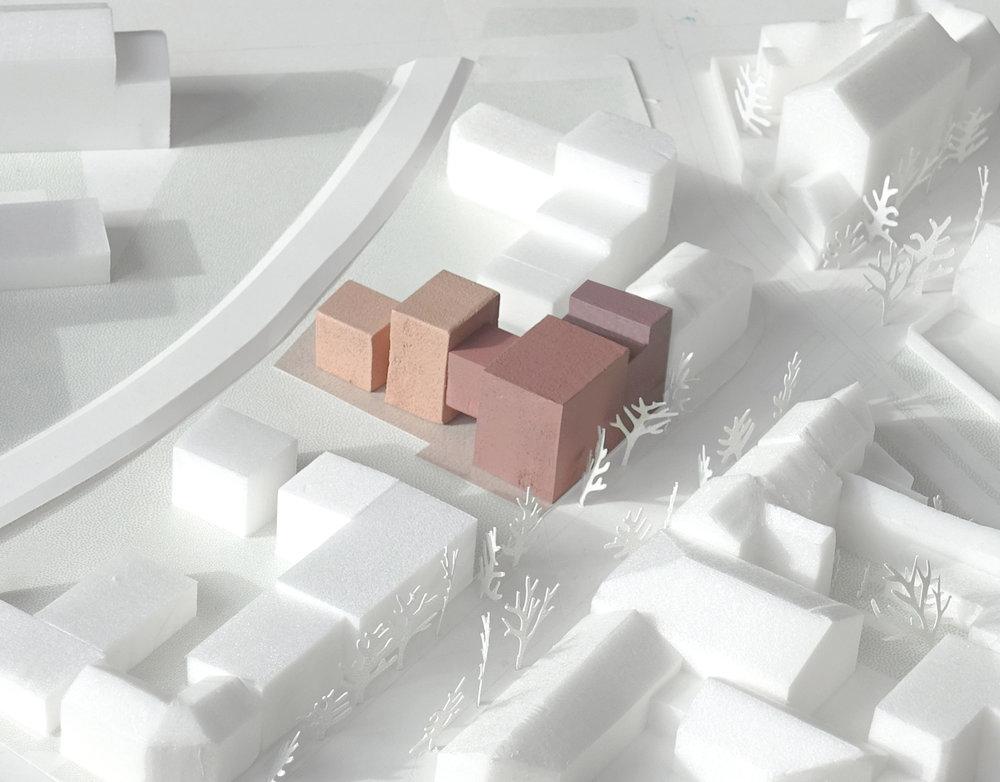 Nouveau projet, 32 logements, Nantes - Palast est lauréat de la consultation pour la construction de 32 logements sur l'ïle de Nantes quartier République, pour Batinantes.