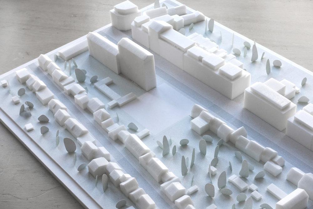Concours, 47 logements, Alma, Rennes - Palast est retenu à concourir pour la construction de 47 logements à Rennes quartier Sud Gare rue de l'Alma pour Réalités promotion