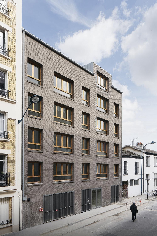 Livraison, 14 logements, Clichy La Garenne - Livraison de 14 logements sociaux pour I3F, Zac du Bac d'Asnières à Clichy la Garenne. Reportage photo Camillle Gharbi