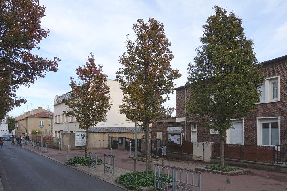 Concours, Cantine scolaireet 29 logements, Arcueil - Le groupement Palast + L2A est retenu pour participer au concours pour la construction d'une cantine scolaire et de 29 logements sociaux pour Exepensiel promotion à Arcueil (94).