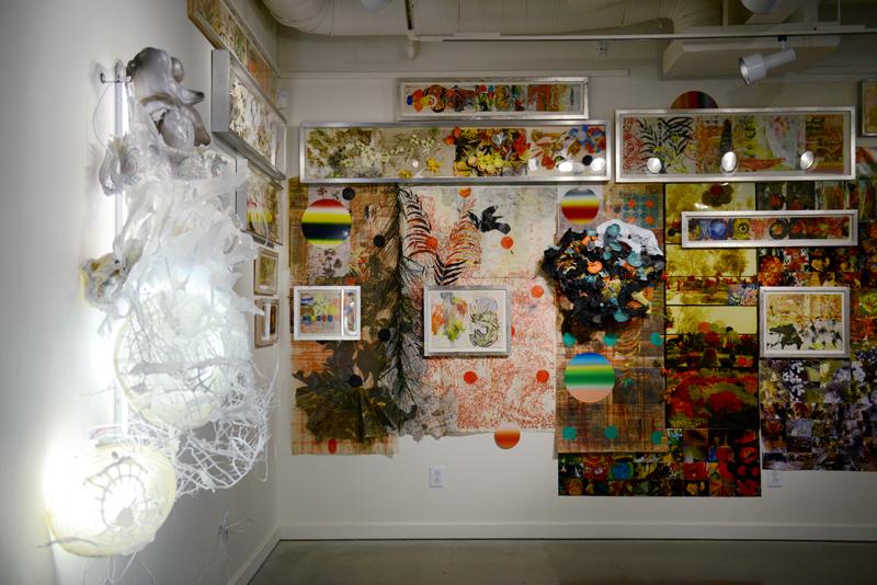 Left: Graceland, 2013. Center: The Art of Flower Arranging, 2013