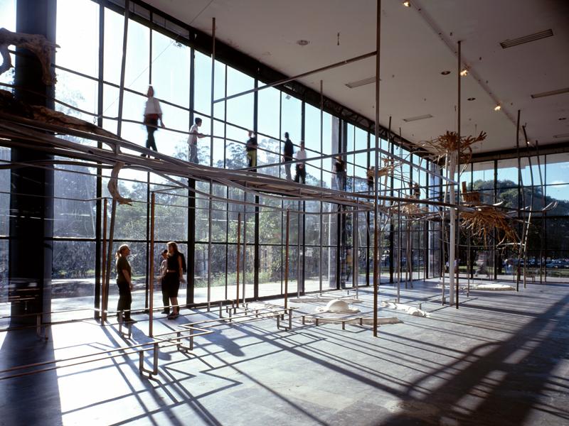 Coroa de Espinhos, 1998 Bienal de Sao Paulo, Bienal Pavilion, Sao Paulo, Brazil