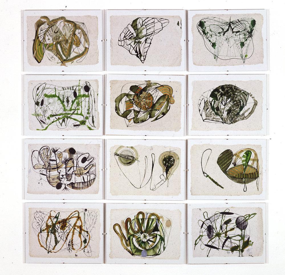 Untitled: Twelve Drawings (2), 1991-1992