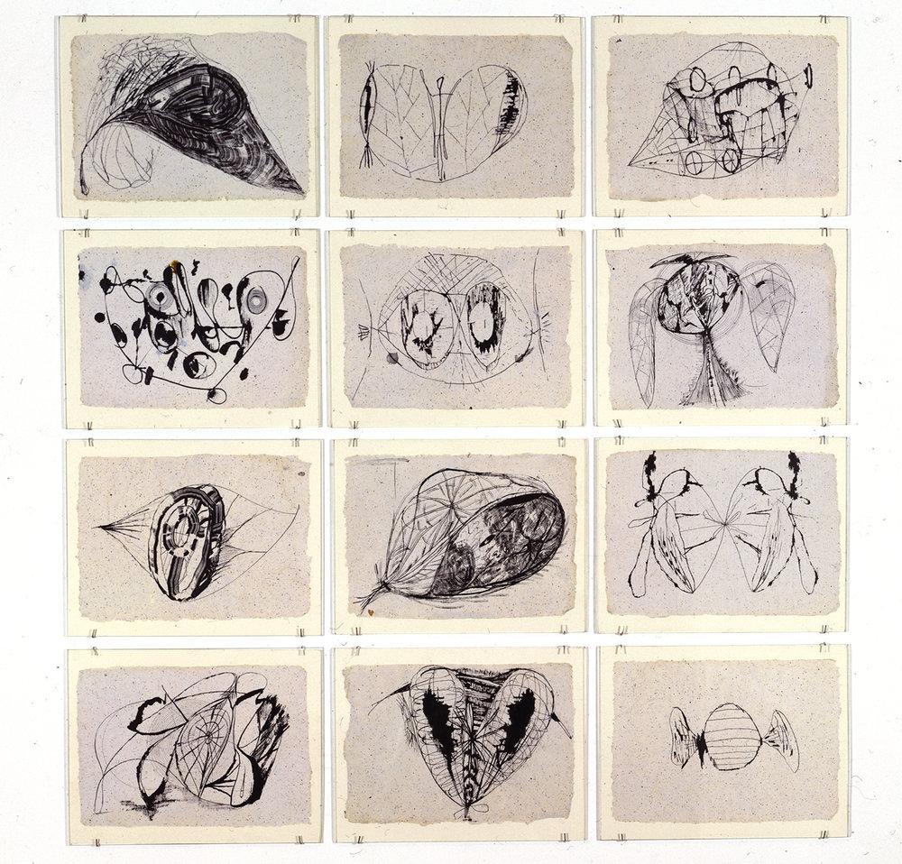 Untitled: Twelve Drawings (1), 1991-1992