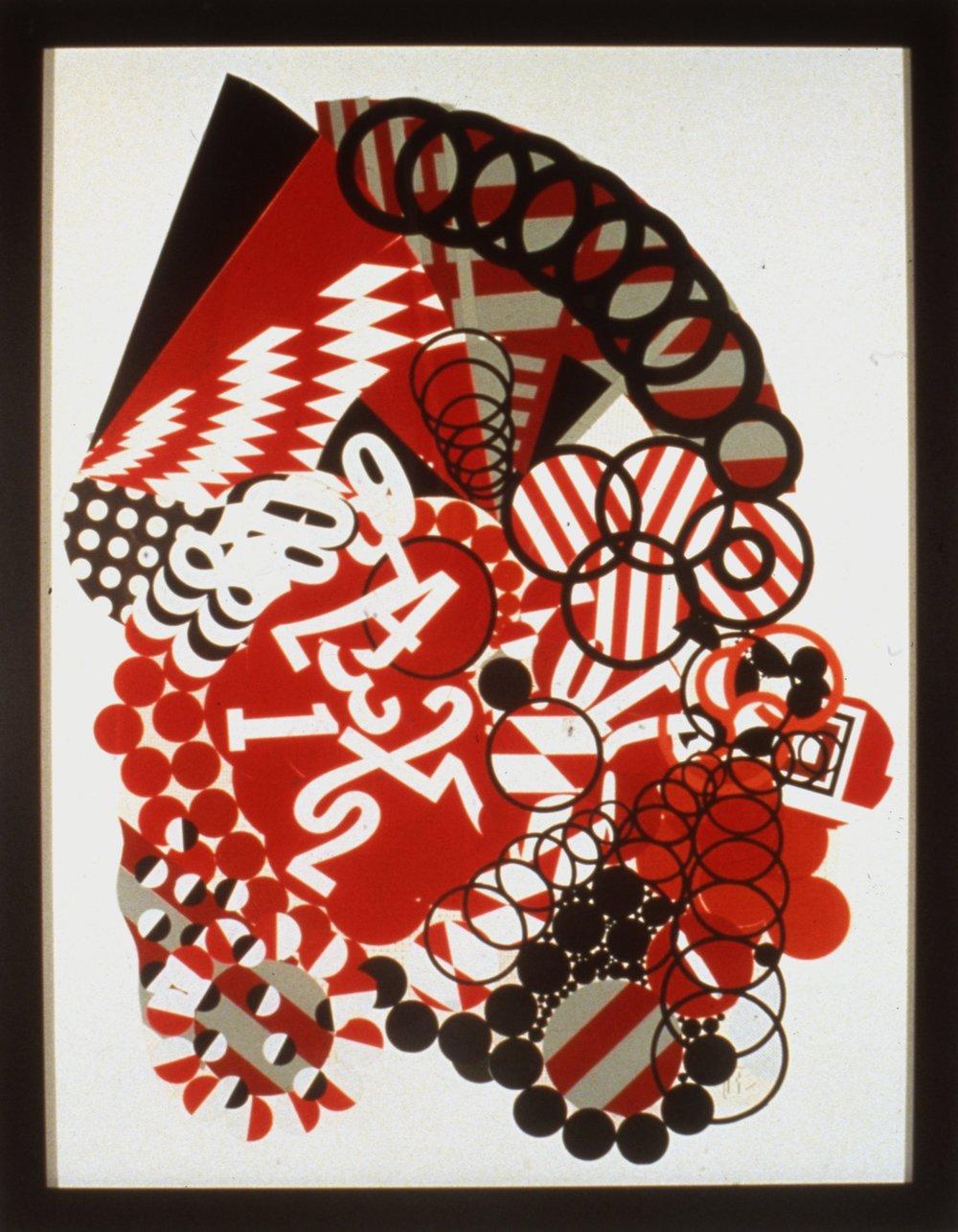 Scopa #5 (sette bello), 1988