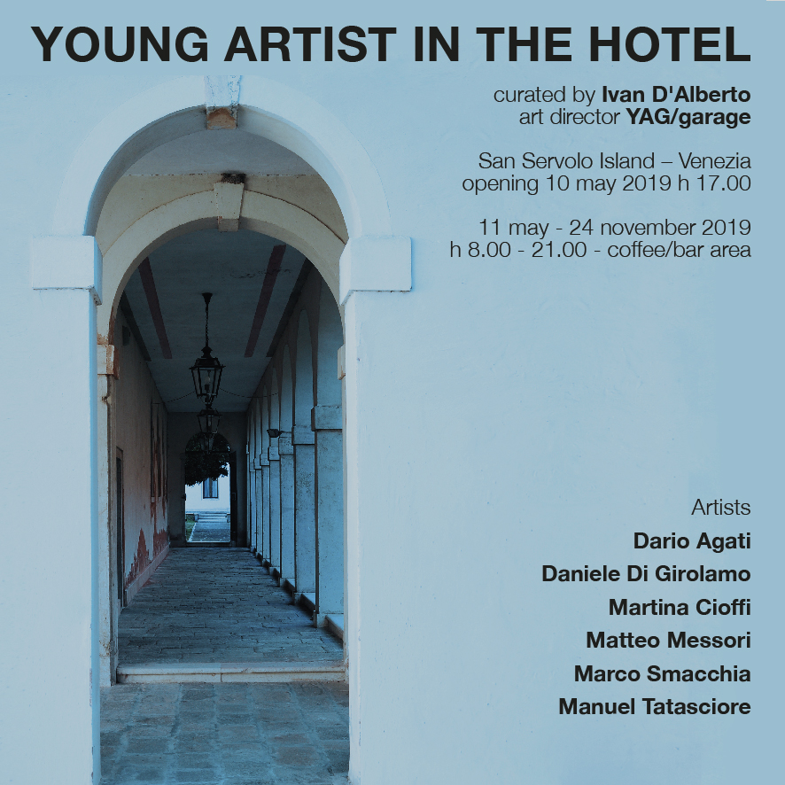Young Artist In The Hotel_YAG Garage