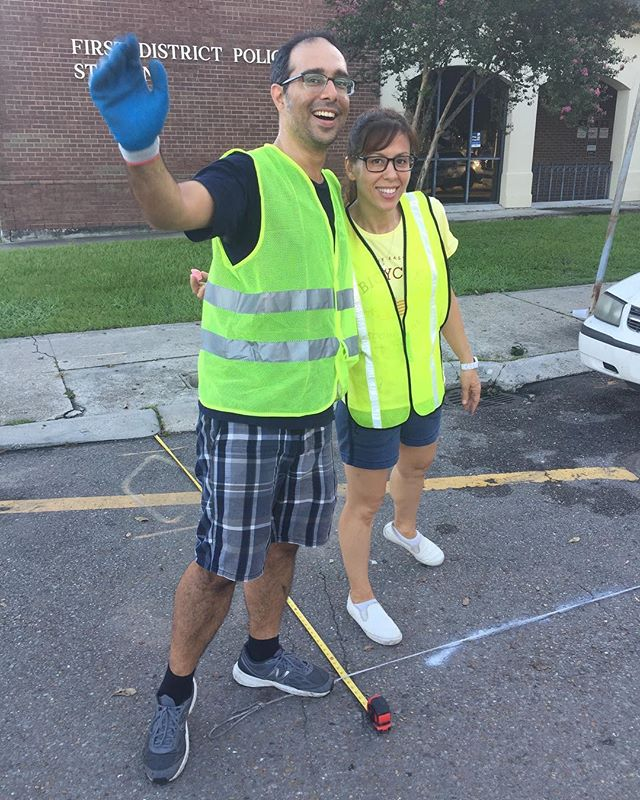 The work of Bike Easy is impossible without volunteers. More than 150 volunteers gave over 2,000 hours to outreach and installation efforts for #connectthecrescent! We still need help with collecting feedback and quantitative data. Sign up to volunteer at www.connectthecrescent.com