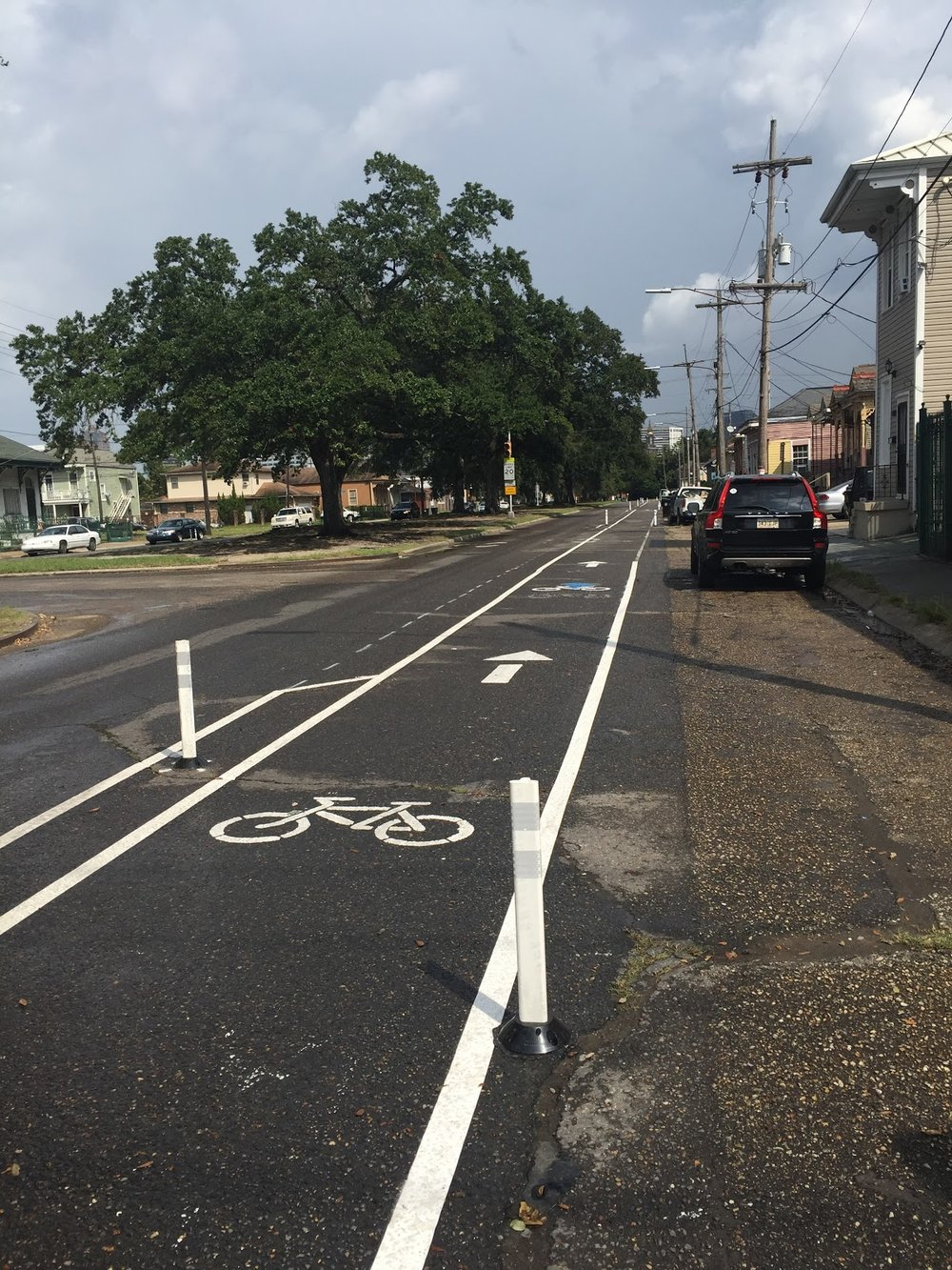 Central City Protected Bikeway