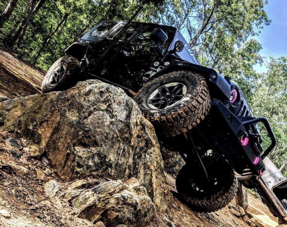 BRIANNA BARKER - JEEP: RUBYBri and Ruby started their adventures together in January of 2017! Bri grew up with Cherokees and she and her husband had owned a few Cherokees when she decided she needed a Jeep of her own, but it had to be a Wrangler! Bri founded a local Jeep club where she lives in North Carolina, dedicated to supporting other women Jeepers in her area and, together, Bri and Ruby are taking over the Jeep world one trail, show & shine, and offroad show at a time!