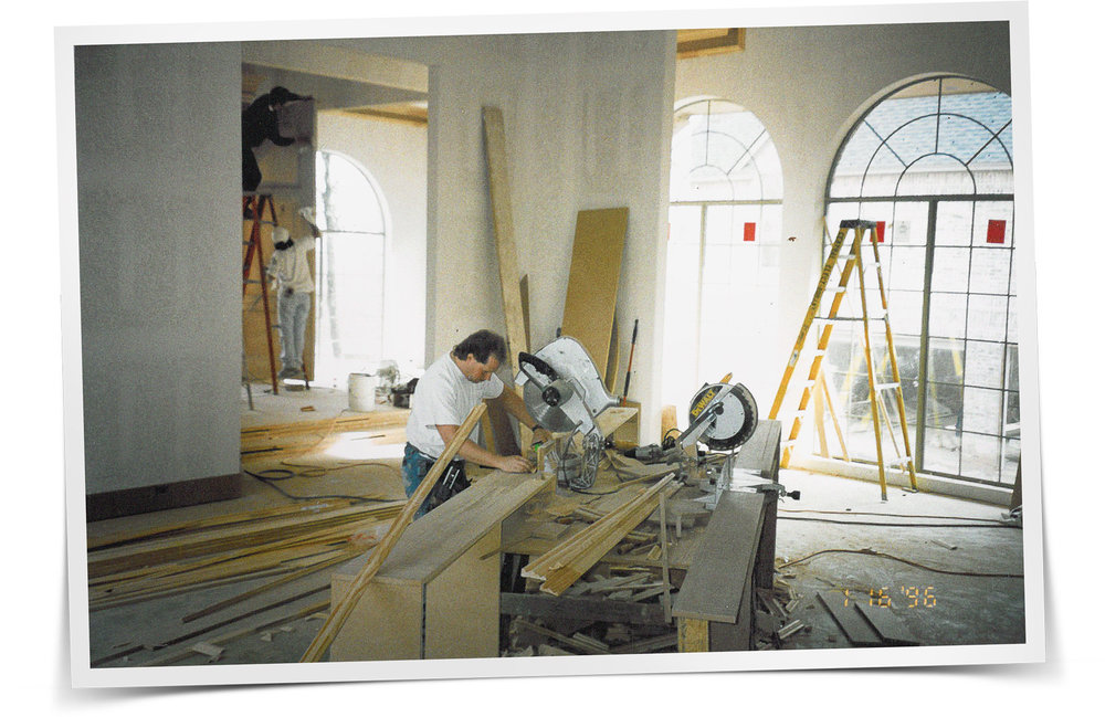 James Walker  Cutting Edge Trim, 1996