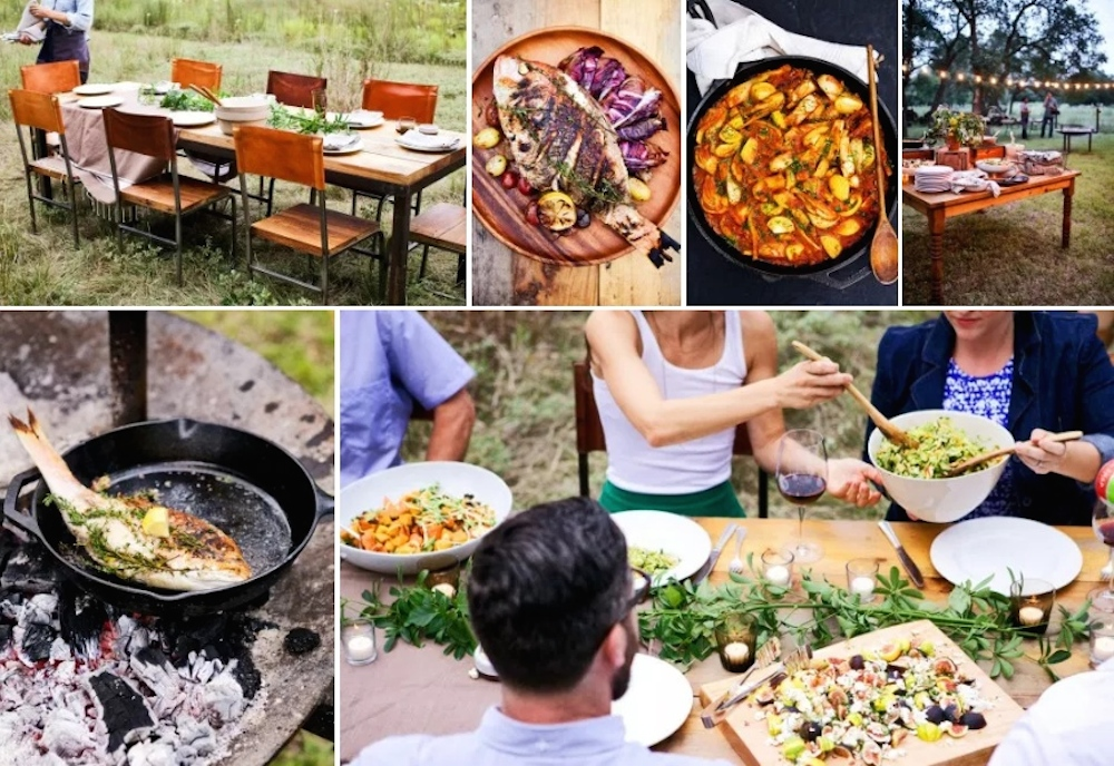 Down-home, ranch style or comfortably upscale, Contigo Catering tailors its approach to fit the occasion at hand.