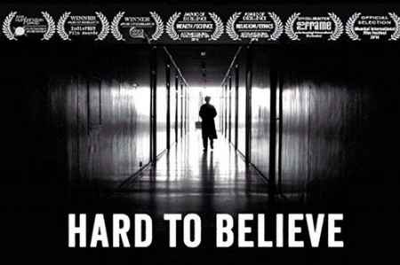 "Poster of ""Hard to Believe"" (from the film's official web site)."